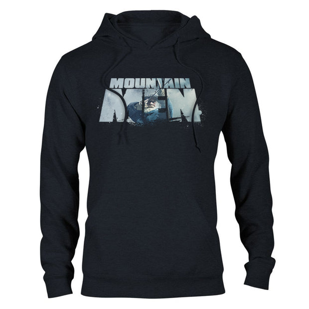 Mountain Men Tom Oar Logo Hooded Sweatshirt