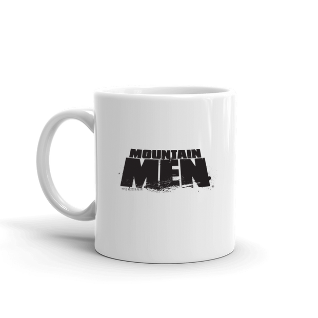 Mountain Men White Mug