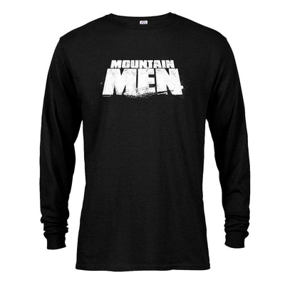 Mountain Men Logo Long Sleeve T-Shirt