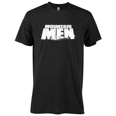 Mountain Men Logo Men's Tri-Blend T-Shirt