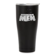 Mountain Men Logo Laser Engraved SIC Tumbler