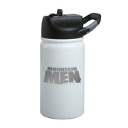 Mountain Men Logo Laser Engraved SIC Water Bottle