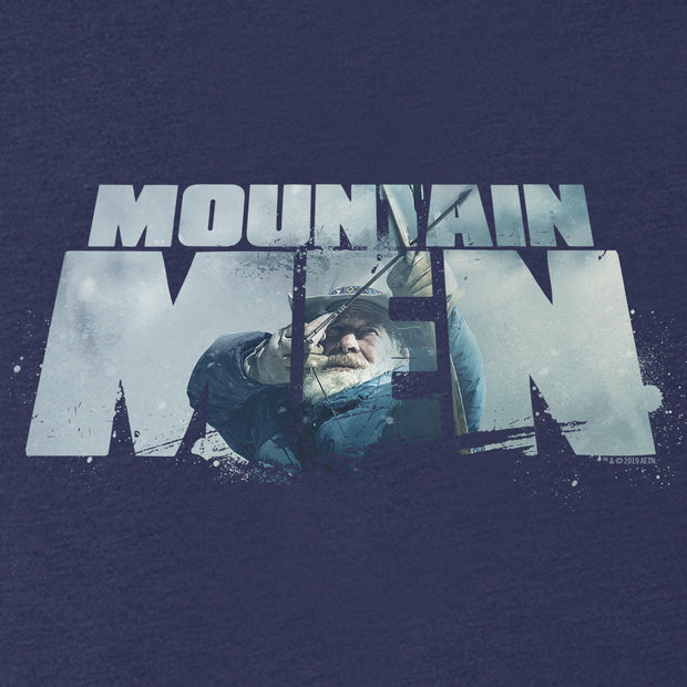 Mountain Men Tom Oar Logo Men's Tri-Blend Short Sleeve T-Shirt
