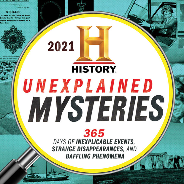 2021 History Channel Unexplained Mysteries Boxed Calendar