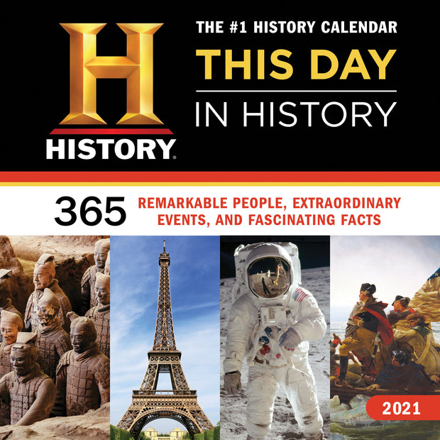 2021 History Channel This Day in History Wall Calendar