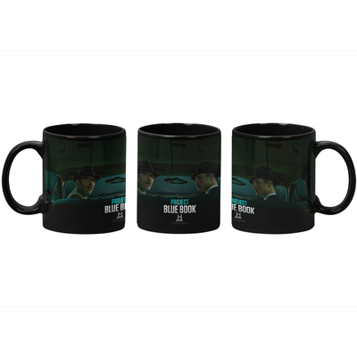Project Blue Book Black Mug