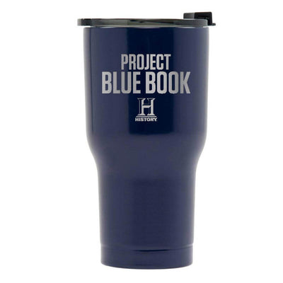 Project Blue Book Logo RTIC Tumbler