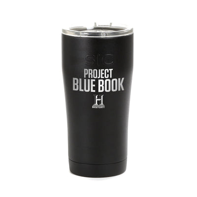 Project Blue Book Logo Laser Engraved SIC Tumbler