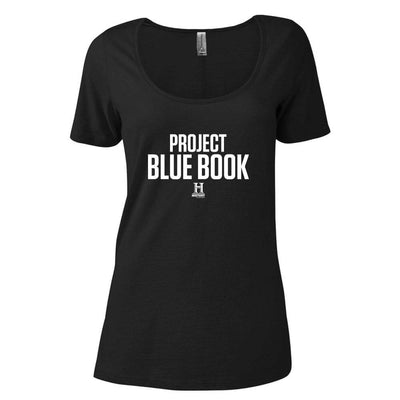 Project Blue Book Women's Relaxed Scoop Neck T-Shirt