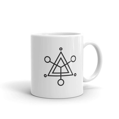 Project Blue Book Symbol White Mug