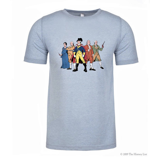 Revolutionary Superheroes T-Shirt