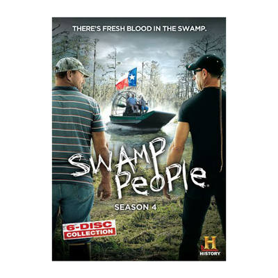 Swamp People Season 4 DVD