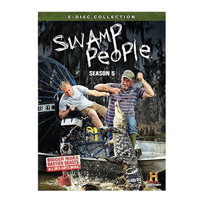 Swamp People Season 5 DVD
