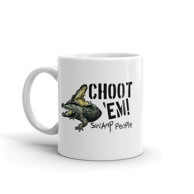 "Swamp People ""Choot 'Em!"" White Mug"