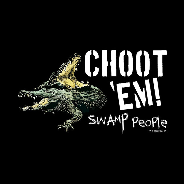 "Swamp People ""Choot 'Em!"" Women's Relaxed Scoop Neck T-Shirt"