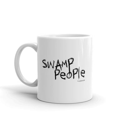 Swamp People Logo White Mug