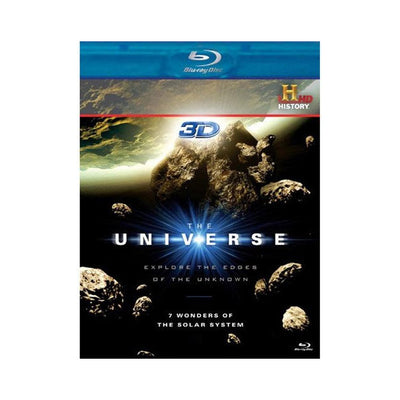 The Universe: 7 Wonders of the Solar System 3D Blu-ray DVD