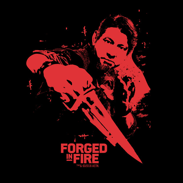 HISTORY Forged in Fire Series Doug Men's Short Sleeve T-Shirt