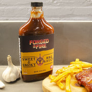 Forged in Fire BBQ Sauce - Sweet & Smoky 14.5oz (411g)