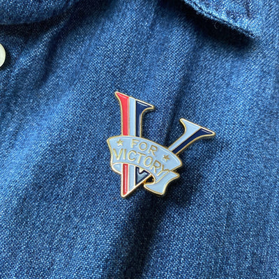 V-Day for Victory Pin