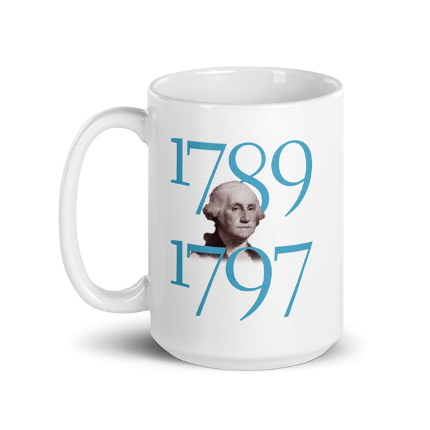 George Washington Produce Peace White Mug