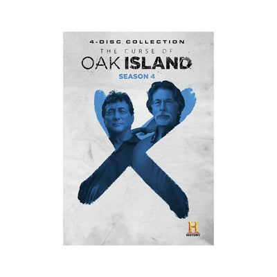 The Curse of Oak Island Season 4 DVD