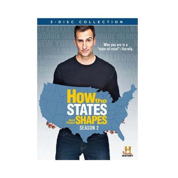 How the States Got Their Shapes: Season 2 DVD