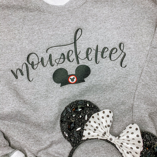 Mouseketeer Embroidered Hoodie