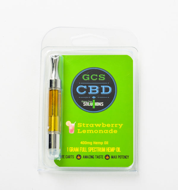 CBD Cartridge Strawberry Lemonade