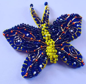 HAND MADE BUTTERFLY APPLIQUE