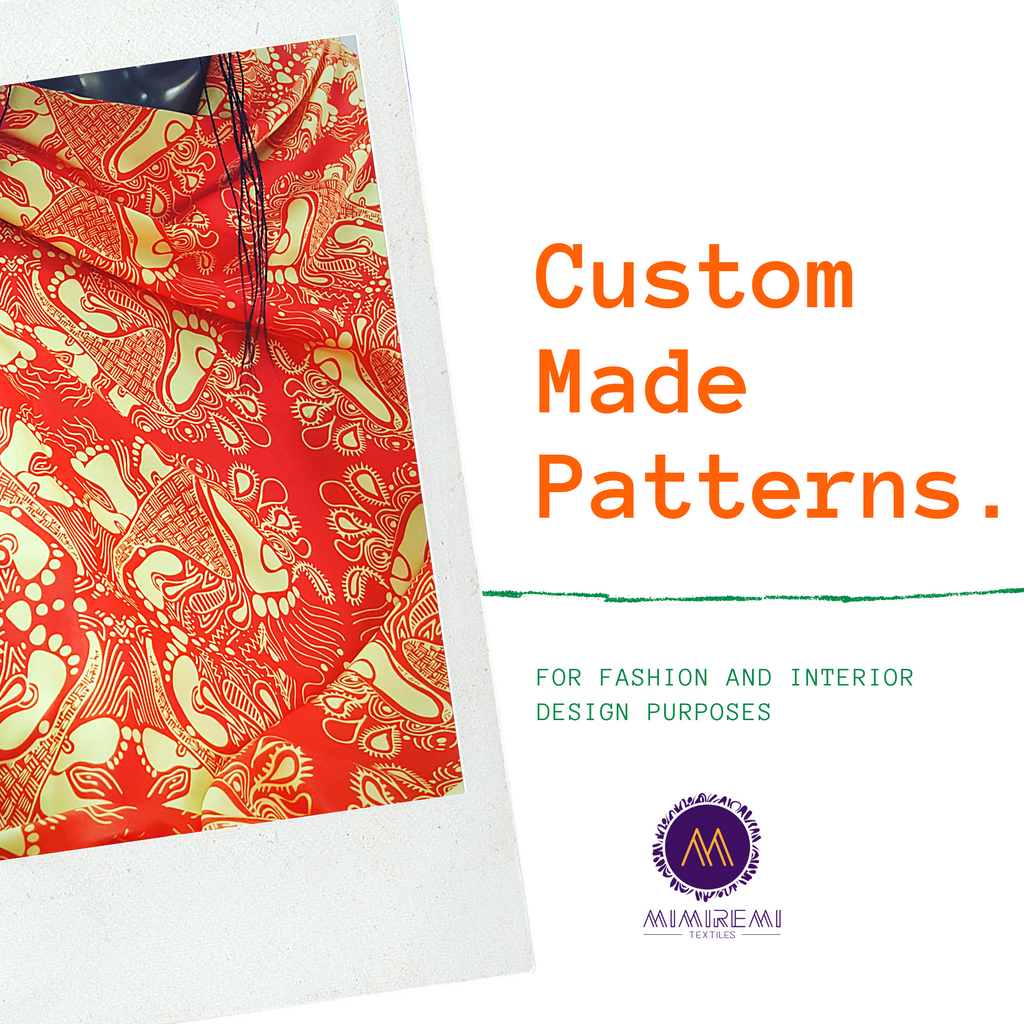 CUSTOM MADE PATTERNS
