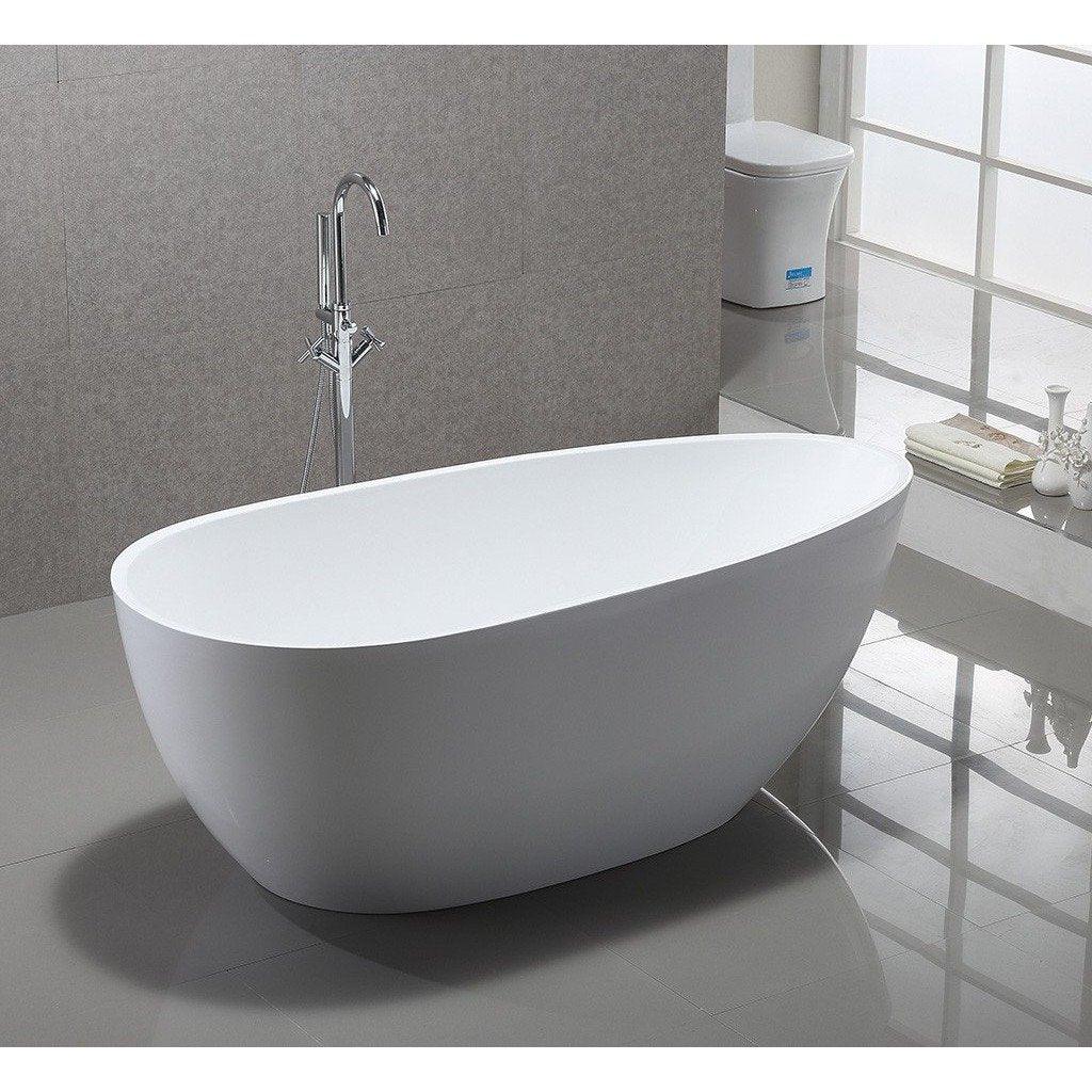 1018B-1700 Spoon Shape Freestanding Bath