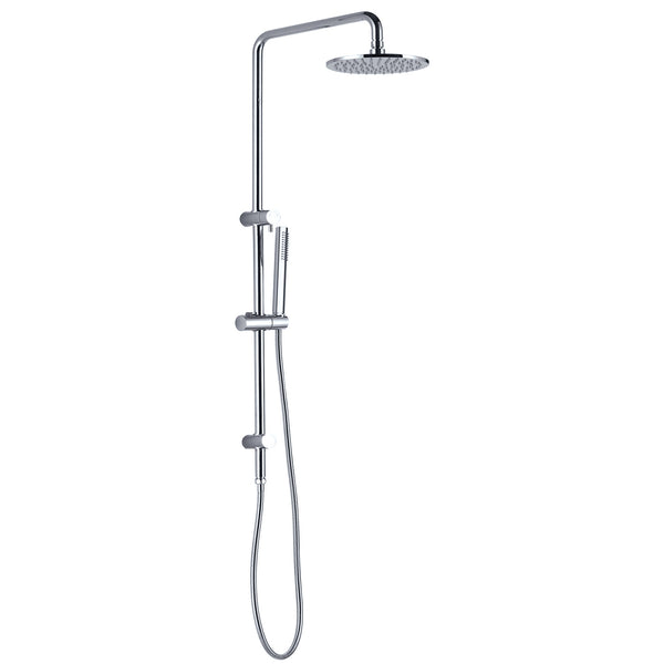 RAIN SHOWER ROUND SHOWER SET (SLIM HAND SHOWER)