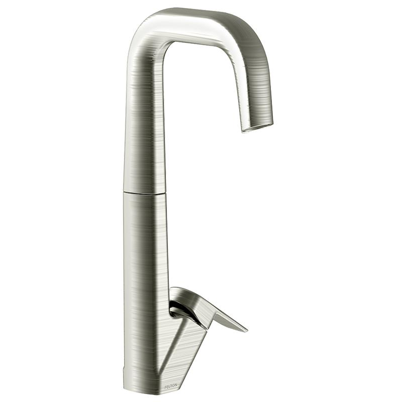Axiss Sink Mixer Brushed Nickel - Felton