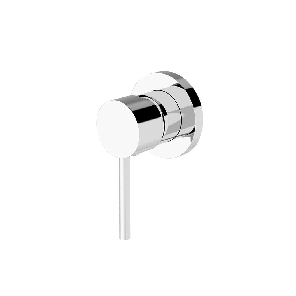 CLASSIC ROUND CHROME SHOWER MIXER
