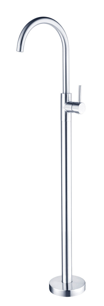RONDO CHROME FREE STANDING BATH MIXER