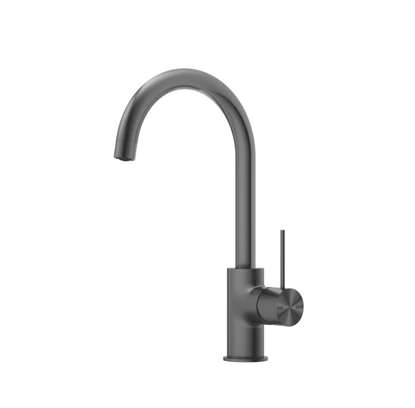 RONDO GUN METAL GREY KITCHEN MIXER