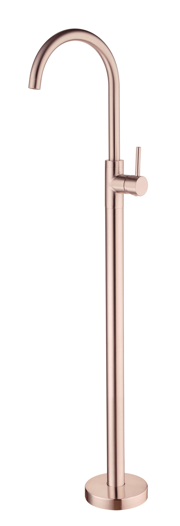 RONDO ROSE GOLD FREE STANDING BATH MIXER