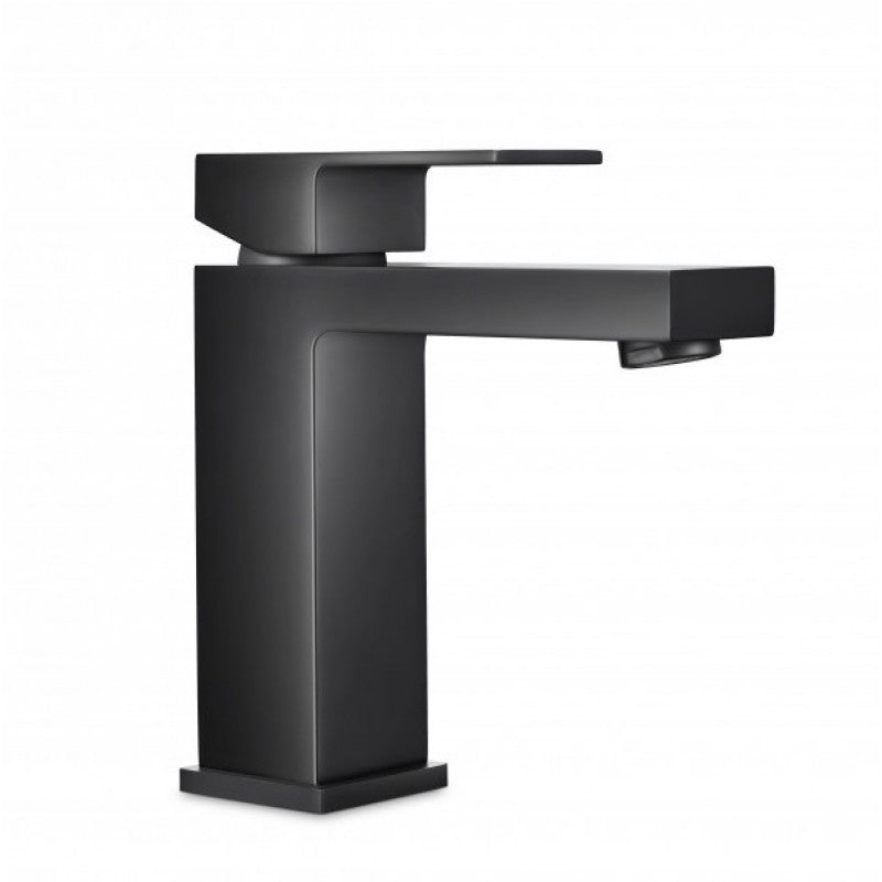 Rock Matt Black Basin Mixer