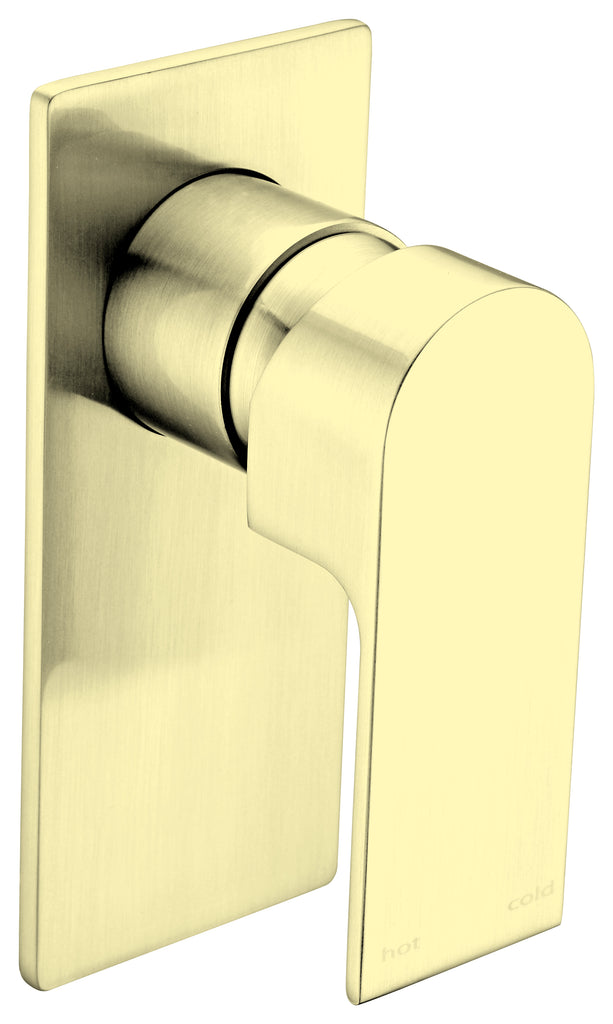 VITRA BRUSHED GOLD SHOWER MIXER