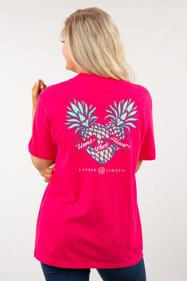 Raspberry - Home Is Where The Heart Is Sweet Tee S/S-Back 3
