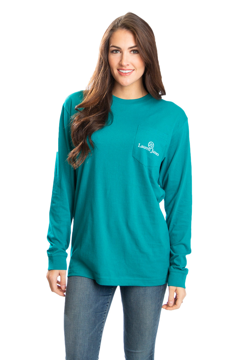 Emerald - Tough Pup L/S - Back