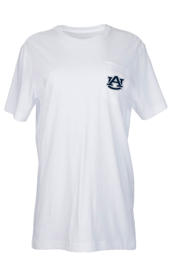 White - For the Love of Auburn Tee - Short Sleeve - Back