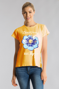BEE HAPPY EASY TEE S/S