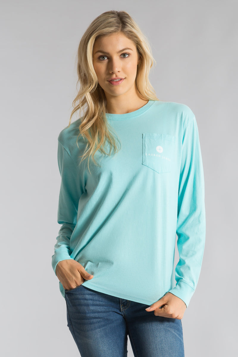 Ocean Palm-Deck The Palm Tee L/S-Front 1
