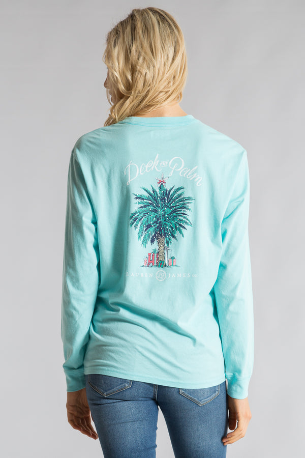 Ocean Palm-Deck The Palm Tee L/S-Back 1