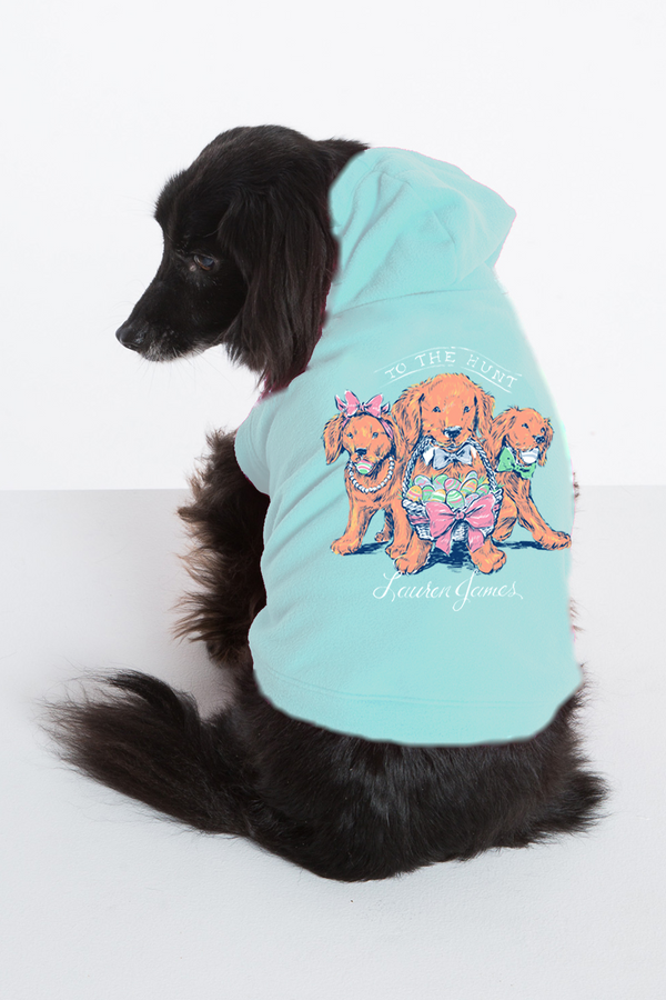 TO THE HUNT DOG HOODIE