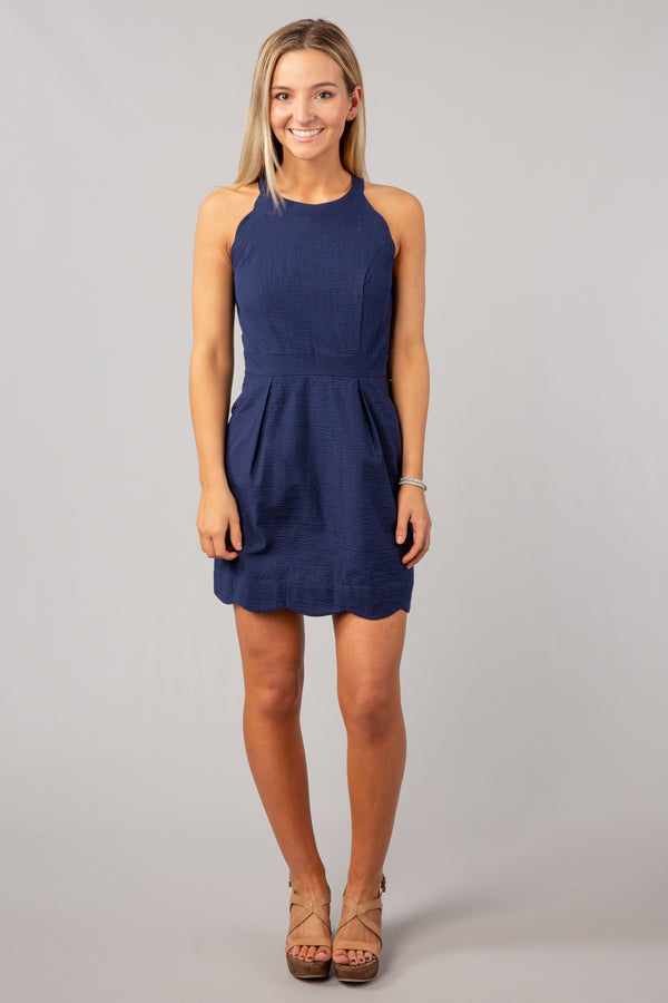 Navy - The Landry Dress - Front