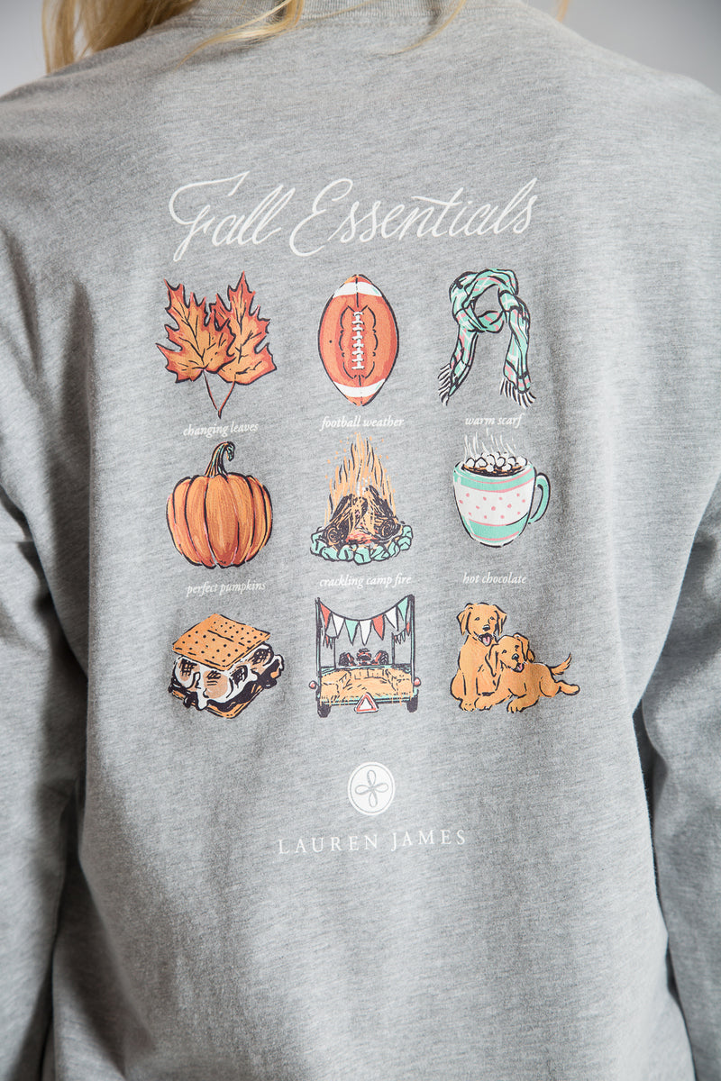 Fall Essentials Tee L/S