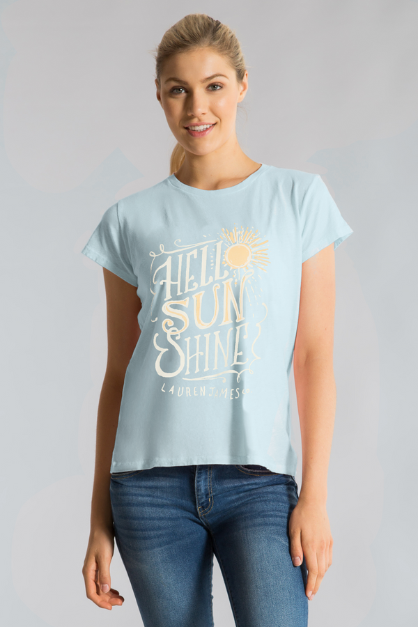 HELLO SUNSHINE EASY TEE S/S
